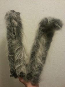 Fur on both!